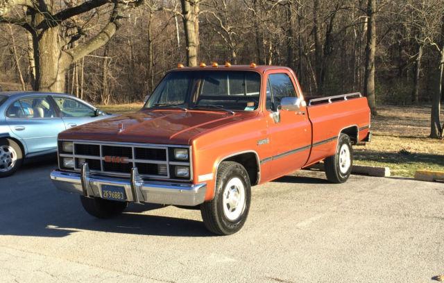 1983 GMC Truck Sierra Classic 2500 for sale in Terre Haute ...