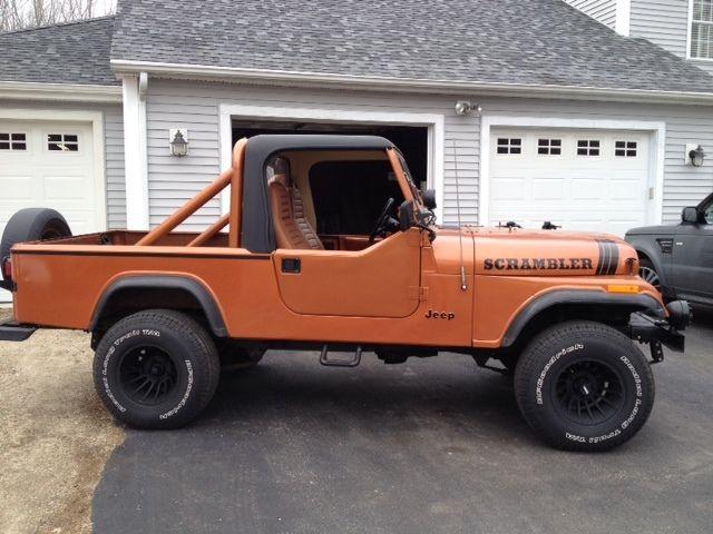 1983 jeep scrambler c j8 for sale in eliot maine united states. Black Bedroom Furniture Sets. Home Design Ideas