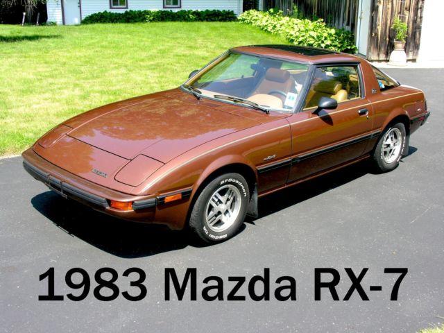 1983 mazda rx 7 gsl survivor low mileage 2 owner rx7 leather loaded. Black Bedroom Furniture Sets. Home Design Ideas