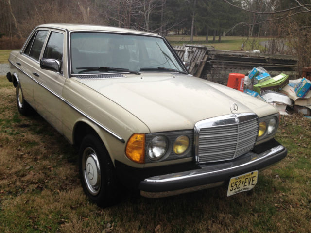 1983 mercedes benz 240d manual transmission sunroof for for Mercedes benz manual transmission for sale