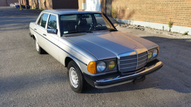 1983 mercedes benz 300d turbo w123 om617 for Mercedes benz om617