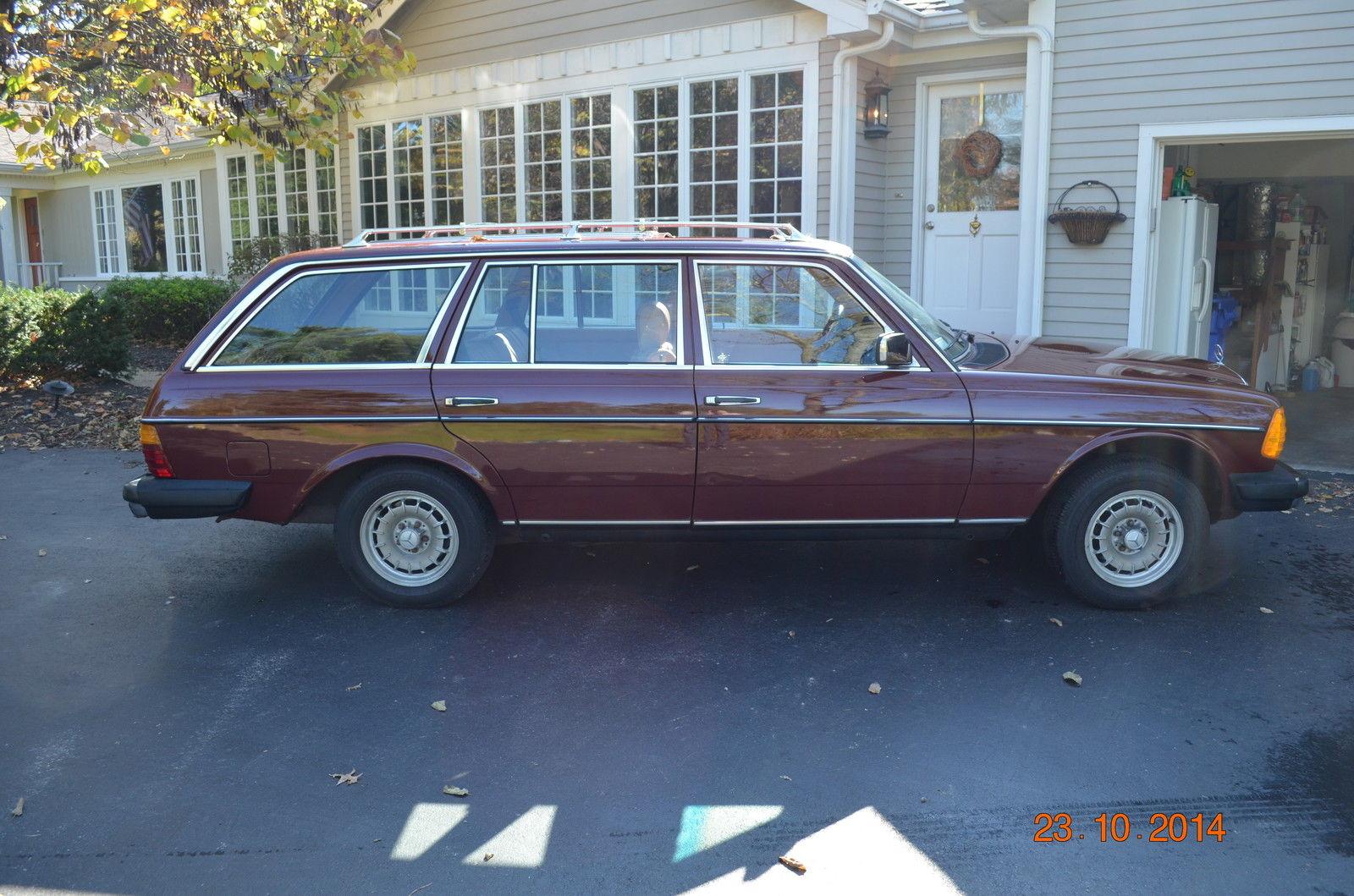 1983 mercedes benz 300td 125k original miles beautiful for Mercedes benz wagon for sale
