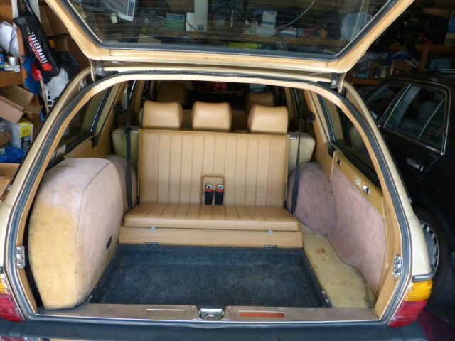 1983 Mercedes Benz 300td Turbodiesel Station Wagon Gold Ext  U0026 Palomino Interior For Sale In San