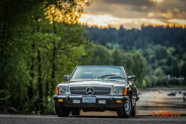 1983 mercedes benz 380sl roadster r107 only 62k miles for Mercedes benz portland oregon