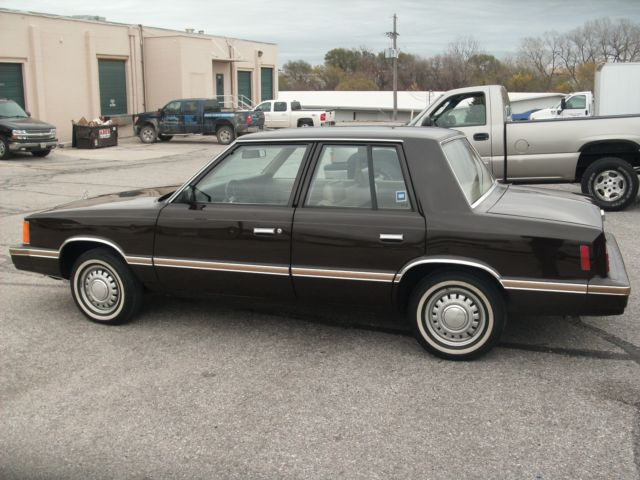 1983 Plymouth Reliant Survivor 14000 Miles 1 Owner For