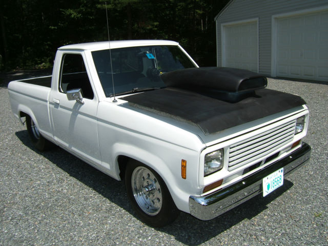 1983 pro street ford ranger hot rod built 302 tubbed with huge rear tires nice for sale in. Black Bedroom Furniture Sets. Home Design Ideas