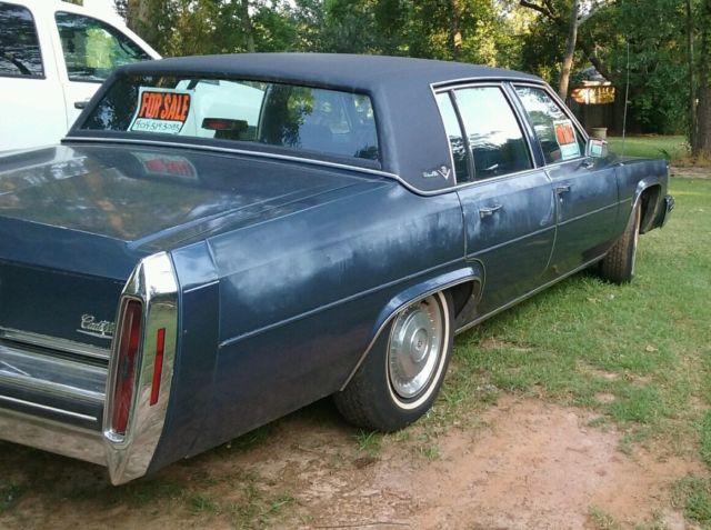 1984 Cadillac Sedan Deville For Sale Photos Technical