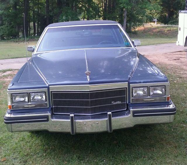 1984 Cadillac Sedan DeVille For Sale: Photos, Technical