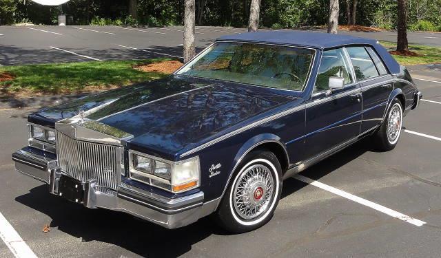 1984 cadillac seville roadster sedan blue low miles nice l 1984 cadillac seville 1996 cadillac seville fuse box #9