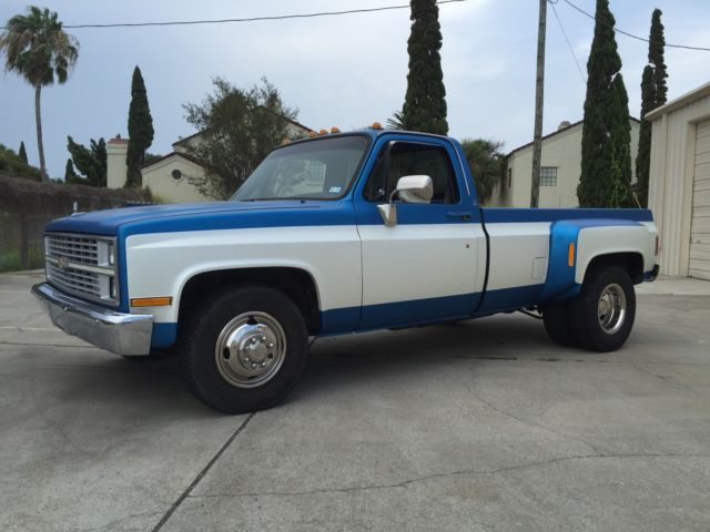 1984 Chevrolet C30 Silverado Dually 6 2 Liter Diesel For