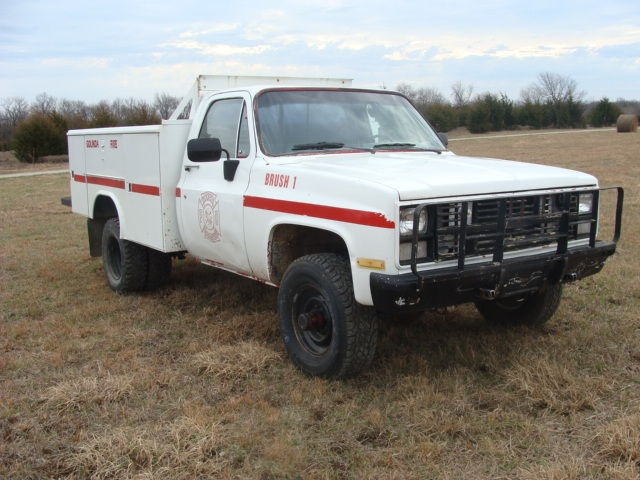 1984 Chevrolet M1028 k30 CUCV military 4x4 diesel 5/4 ton reading