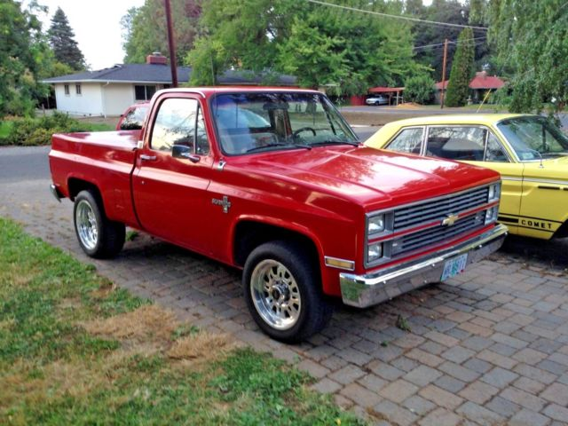 1984 Chevy C20 2wd 454ci Short Bed Custom Roller Cam