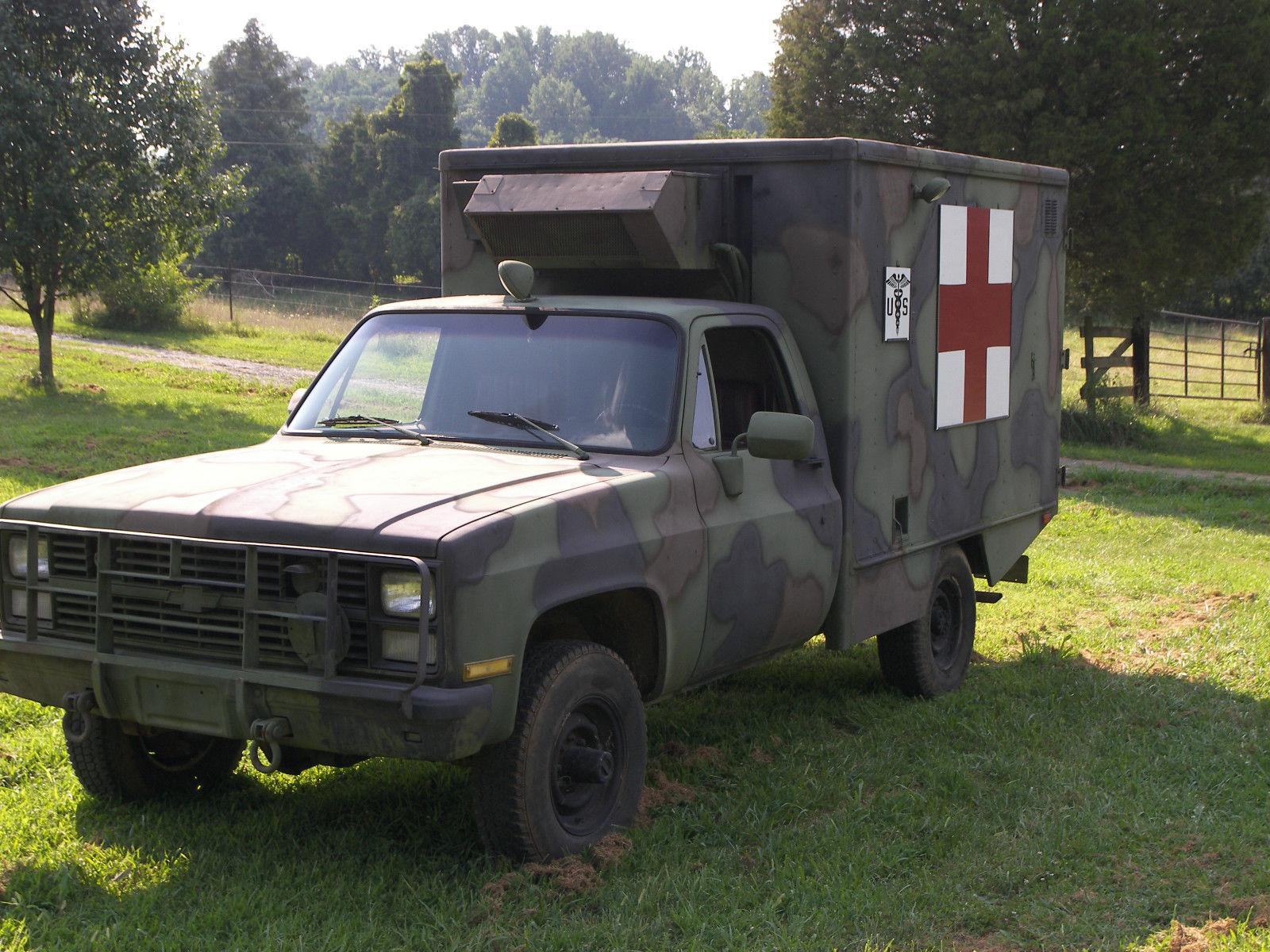 Chevy M X Army Ambulance
