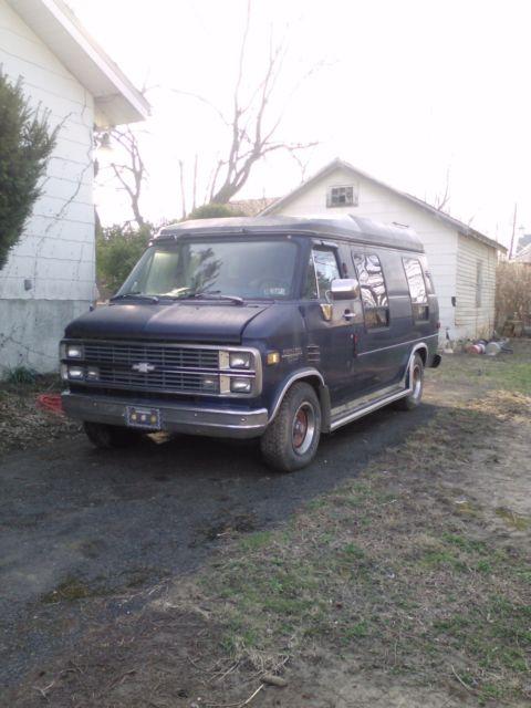 1984 Chevy Motor Home G20 Van