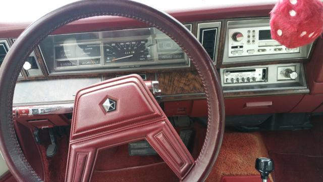 1984 Chrysler Lebaron Convertible 2 Door 2 2l Collector