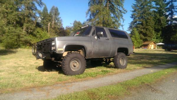 1984 CUCV M1009 Chevy Blazer K5 for sale in Yacolt