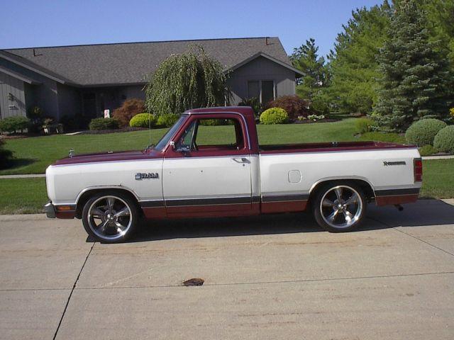 1984 dodge prospector royal se 1 2 ton pickup truck rat rod patina orig paint for sale in north. Black Bedroom Furniture Sets. Home Design Ideas