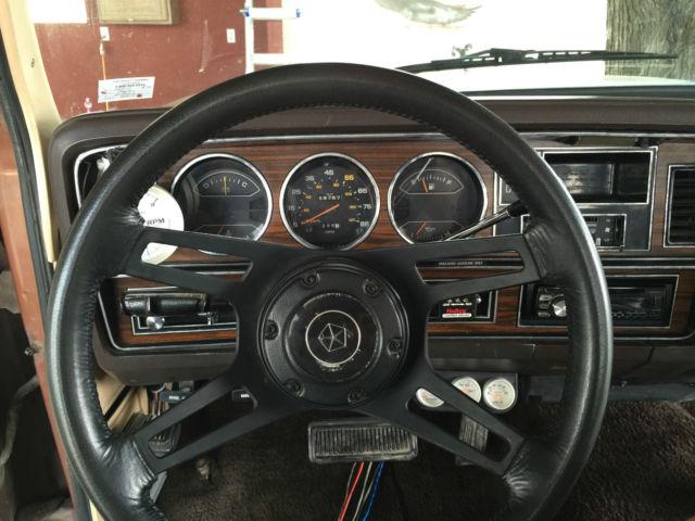 Used Dodge Ram >> 1984 Dodge Ram Charger 150 ROYAL SE PROSPECTOR for sale in