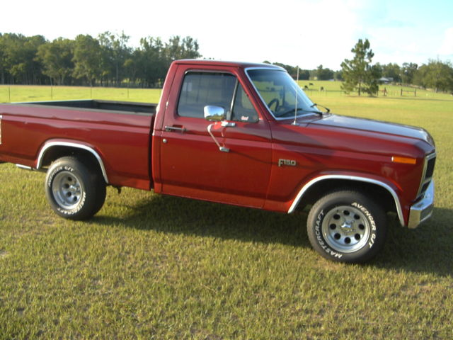 249994 1984 Ford F 150 Xlt on 6500 pickup truck