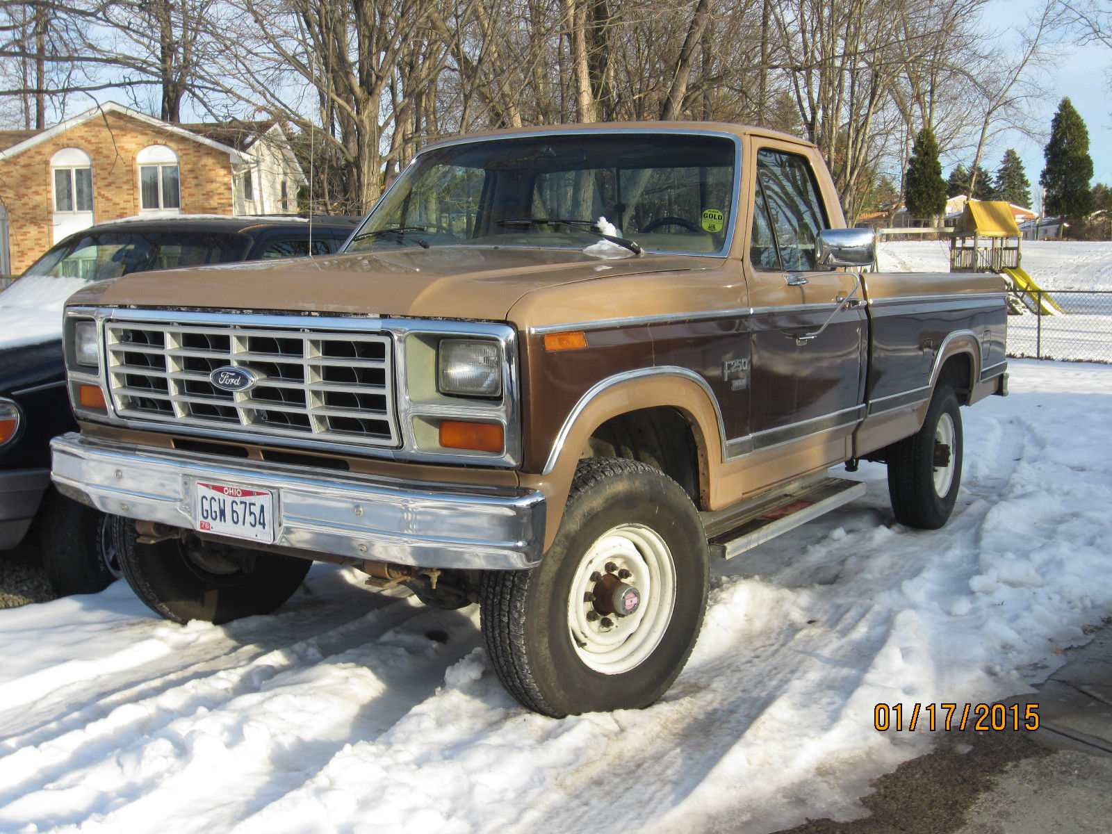 1984 Ford F250 4x4 1980