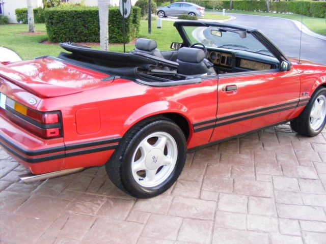 1984 ford mustang gt 5 0 fox body convertible. Black Bedroom Furniture Sets. Home Design Ideas