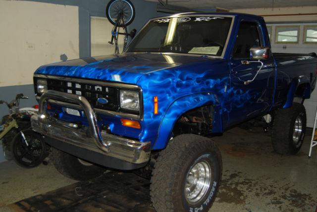 1984 ford ranger xlt standard cab pickup 2 door 2 8l for sale in orleans michigan united states. Black Bedroom Furniture Sets. Home Design Ideas