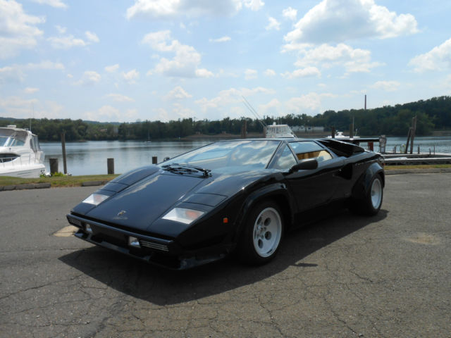 1984 Lamborghini Countach Lp5000s 1 Owner 4 000 Original Miles For