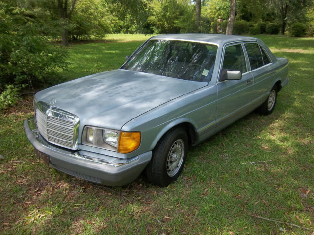 1984 mercedes benz 300 series 300sd turbo diesel for sale for Mercedes benz 300 diesel
