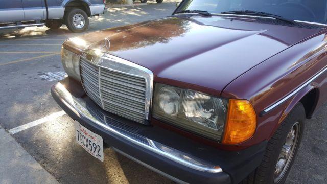 1984 mercedes benz 300td turbo diesel wagon for Mercedes benz turbo diesel