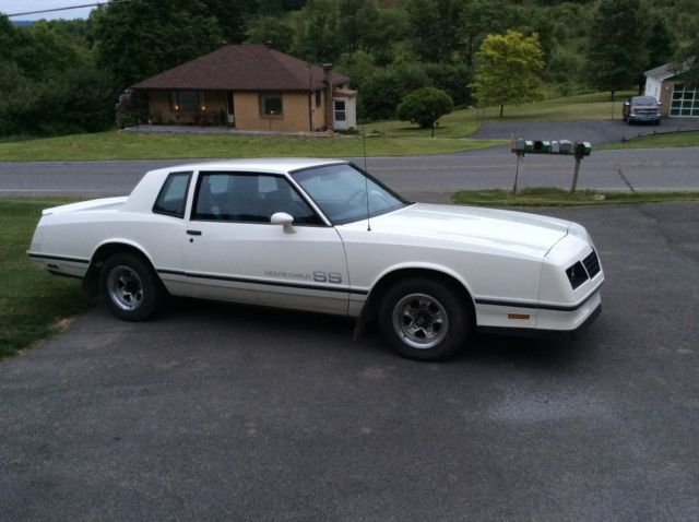 1984 monte carlo ss all original power windows low miles 305 chevy for sale in johnstown pennsylvania united states for sale photos technical specifications description classiccardb com