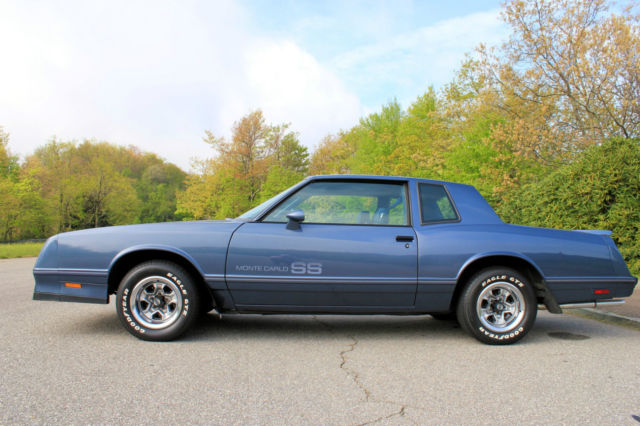 1984 monte carlo ss blue exterior blue interior automatic for sale in brevard north carolina united states for sale photos technical specifications description classiccardb com