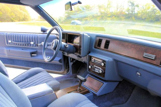 1984 Monte Carlo Ss Blue Exterior Blue Interior Automatic For Sale In Brevard North Carolina