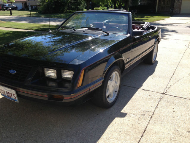 1984 Mustang Lx Conv 5 0 5 Speed For Sale In Shorewood