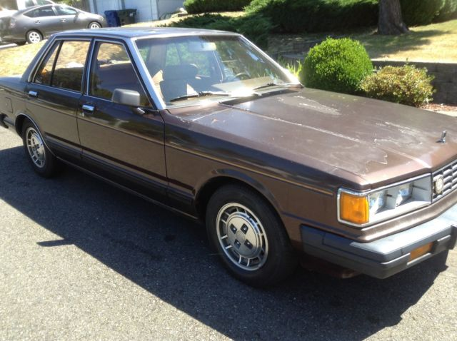 1984 nissan maxima gl sedan 4 door 2 4l for sale in kent washington united states. Black Bedroom Furniture Sets. Home Design Ideas