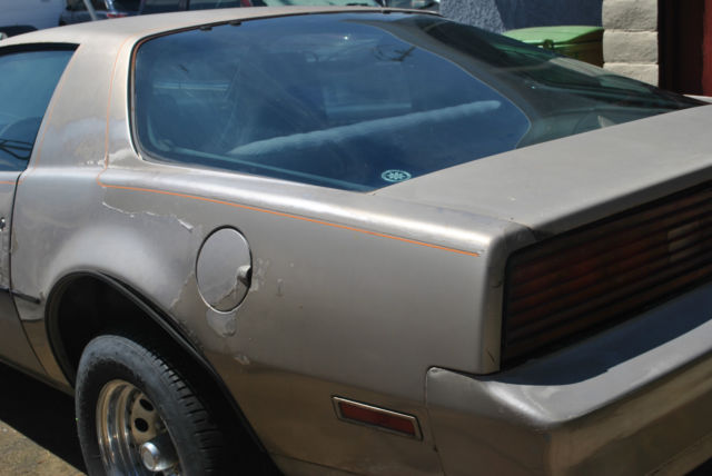 1984 pontiac firebird 302 automatic dark brown interior a c for sale in hayward california united states for sale photos technical specifications description classiccardb com