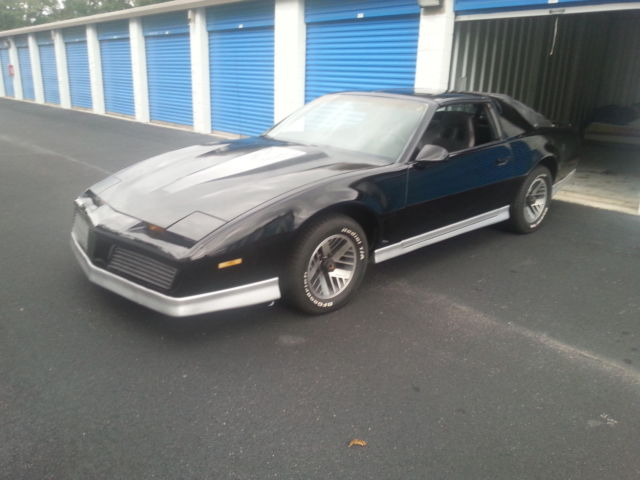 1984 pontiac firebird trans am t top 5 speed manual for sale in savannah georgia united states for sale photos technical specifications description classiccardb com