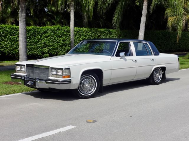 1984 Sedan Deville Only 38 000 Miles Recent Major
