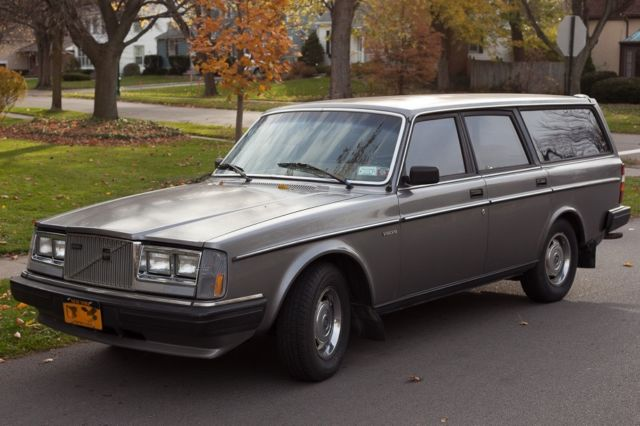 1984 Volvo 240 Diesel Wagon Manual 130k original miles, original paint, NICE! for sale in ...