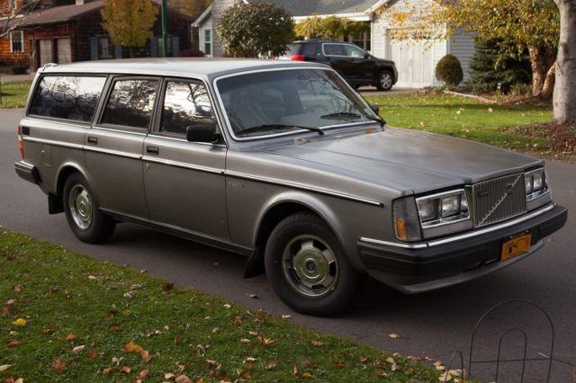 1984 volvo 240 diesel wagon manual 130k original miles original paint nice for sale in. Black Bedroom Furniture Sets. Home Design Ideas