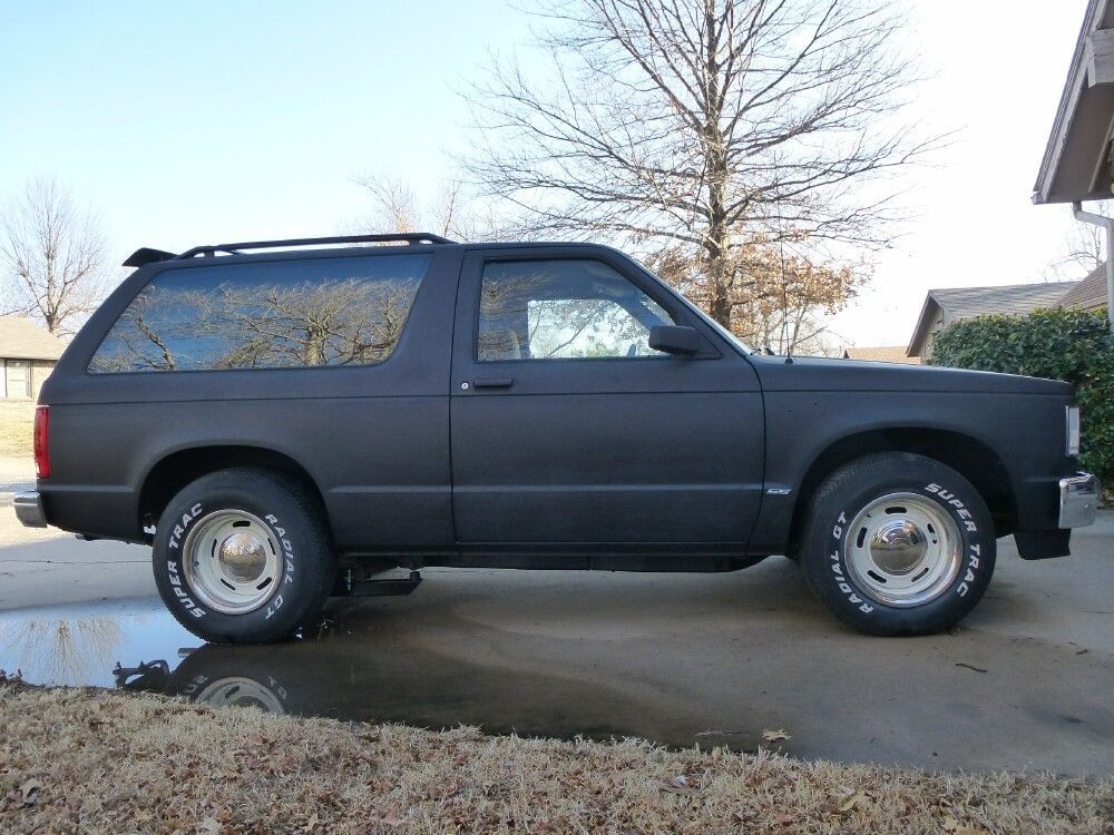 1985 2 door chevy s10 blazer v8 street rod project for. Black Bedroom Furniture Sets. Home Design Ideas