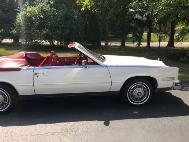 1985 Cadillac Eldorado Biarritz For White Convertible Photos Technical Specifications Description