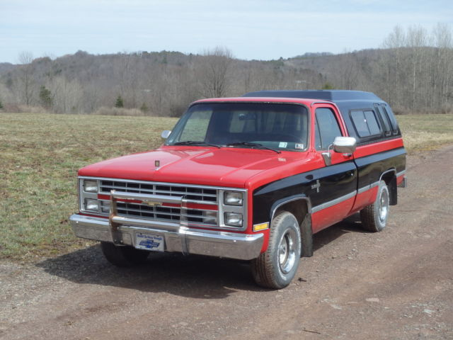 1985 chevrolet c10 silverado standard cab pickup 2 door 5 0l for 10 door truck
