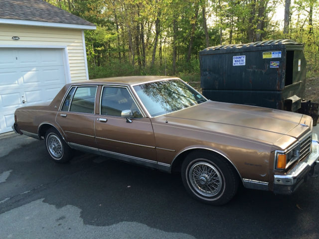 1985 chevrolet caprice classic for sale in cudahy wisconsin united states for sale photos technical specifications description classiccardb com