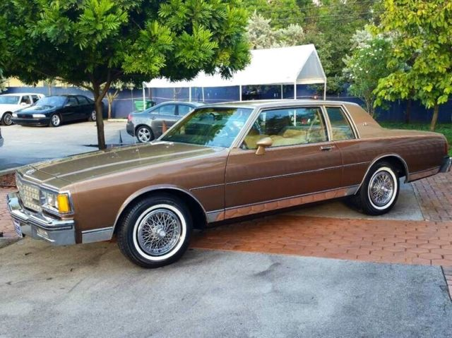 1985 chevrolet caprice classic 2 door 61 000 original miles always garaged kept for sale photos technical specifications description classiccardb com
