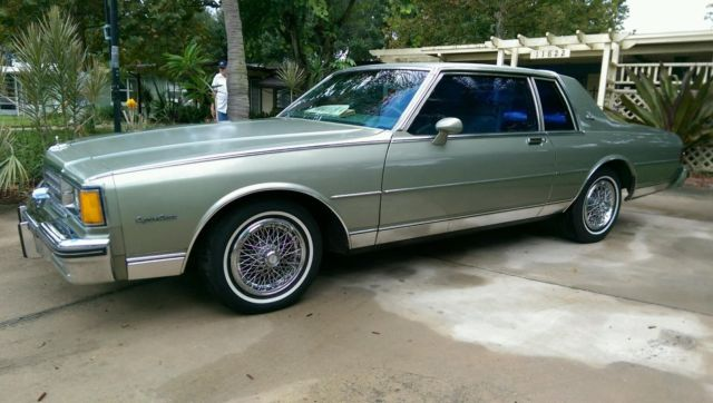 1985 chevrolet caprice classic coupe 2 door 5 0l for sale in largo florida united states for sale photos technical specifications description classiccardb com