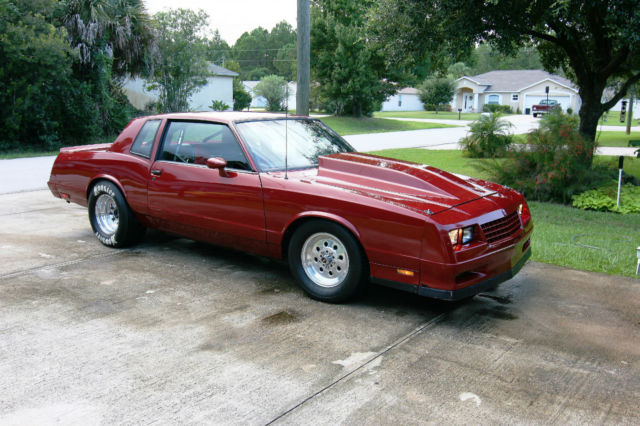 1985 Chevrolet Monte Carlo Ss Drage Race Pro Street For