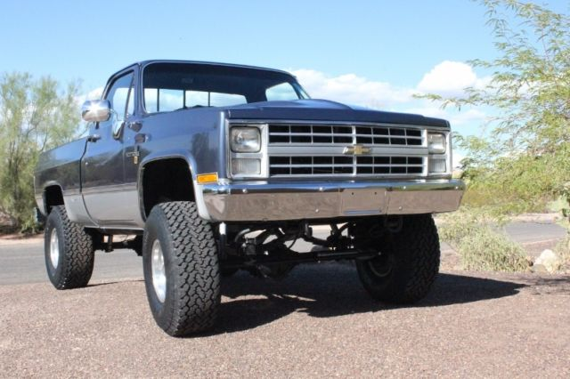1985 chevy 4x4 pickup k 10 chevrolet truck for sale in cave creek arizona united states. Black Bedroom Furniture Sets. Home Design Ideas
