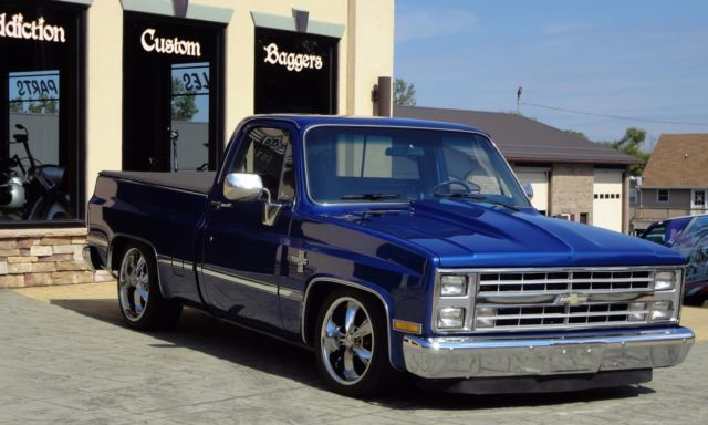 1985 Chevy C10 Prostreet, Restomod, Low Rider, Square Body