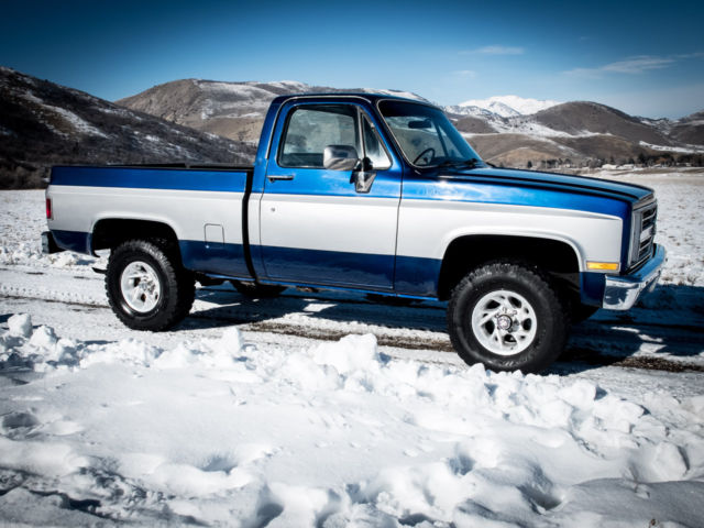 Chevy Truck Silverado K X Short Bed Shop Truck Zero Rust New Paint