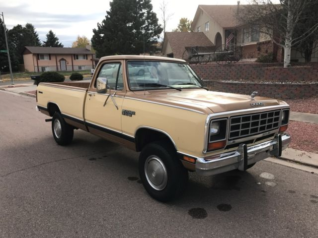 1985 dodge ram w350 4wd 4x4 1 ton 1 owner power wagon no reserve. Black Bedroom Furniture Sets. Home Design Ideas